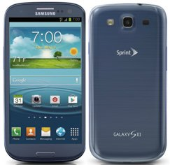 Samsung Galaxy S3 16GB Blue Android 4G LTE Phone Sprint