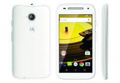 Motorola Moto E 2nd Gen XT1526 8GB WiFi GPS 4G LTE White Android Smart Phone Boost Mobile