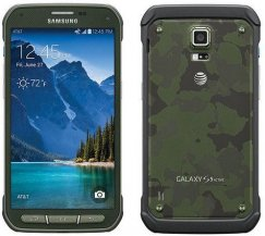 Samsung Galaxy S5 Active 16GB Rugged Waterproof Camouflage Android Phone ATT GSM